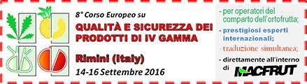 8th European Short Course Fresh-Cut