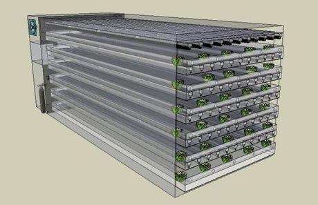Usa: come ti trasformo il container in una serra