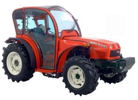 Goldoni in trattore alla conquista del sudafrica for Quasar 90 usato