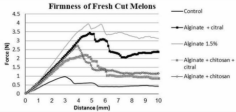 Scientists study the effect of edible coating on fresh-cut melon