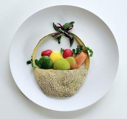 Hoe maak je je bord groenten aantrekkelijk - Maak pool container ...