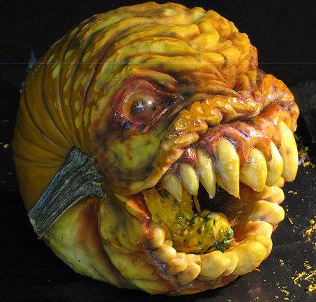 Zucche spaventose per halloween for Foto zucche halloween
