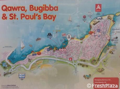 Cartina Geografica Isola Di Malta.Un Tocco Di Italianita Nella Vendita Ortofrutticola Al Dettaglio A Malta
