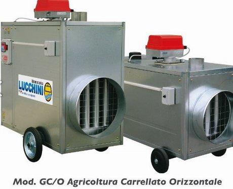 Riscaldamento Con Aria Calda.Idromeccanica Lucchini Presenta I Generatori Di Aria Calda Per Il